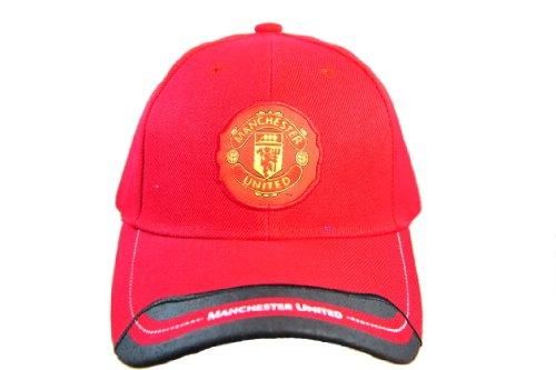 FC MANCHESTER UNITED OFFICIAL TEAM LOGO CAP / HAT - MU062