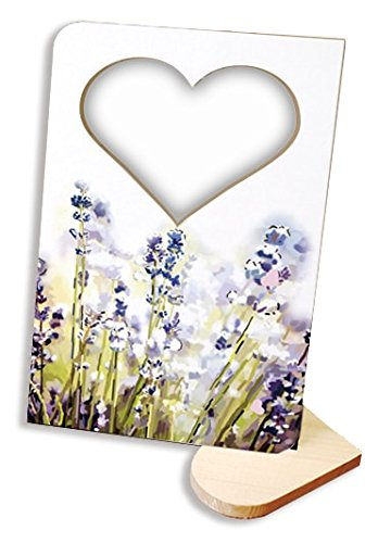 iRecki Recordable Photo Frame Card - Personalized Voice Greeting DIY for Valentine's, Birthdays, Christmas, Holidays, etc. Voice Message Card