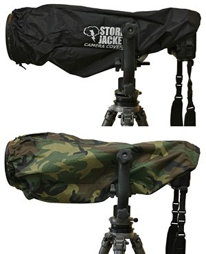 Vortex Media Pro Storm Jacket Cover for an SLR Camera with a Extra Large (XL) Lens Measuring 14