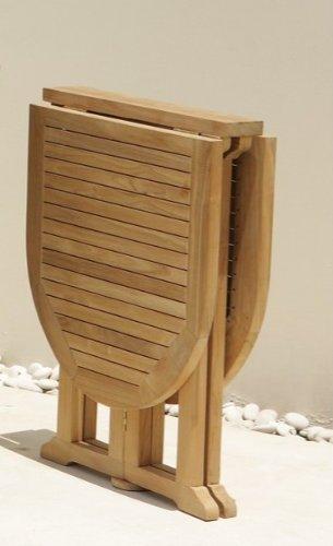 Magic Tisch Teakholz Mehrfach Klappbar 60 120 X 75 Cm Balkon Top