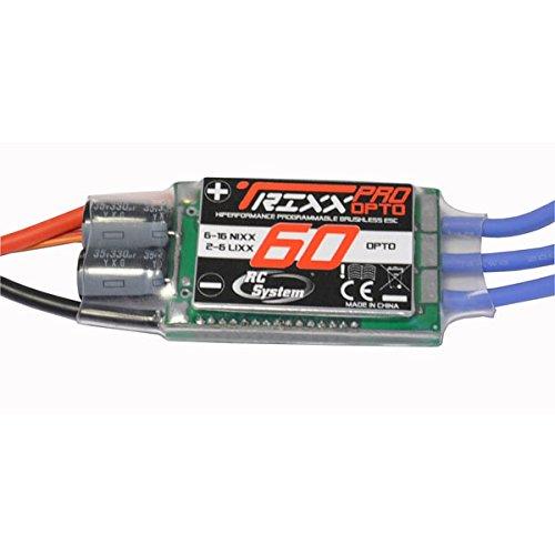 CONTROLEUR TRIXX PRO 60A OPTO 2-6 ELEMENTS LI-PO/6-16 Ni-Mh