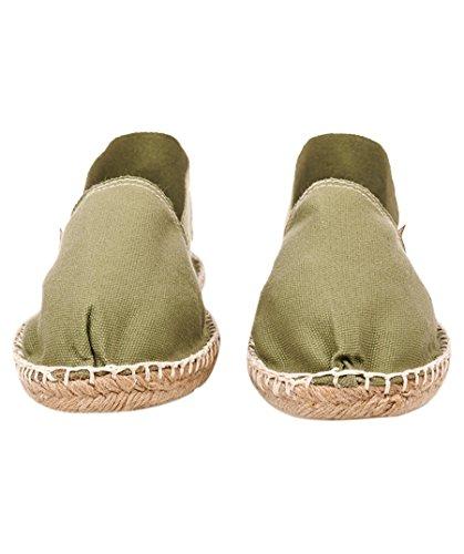 Cotton Womens Espadrilles EU Espadrij 9 Classic LORIGINALE Sage Size US 41 5 4Oxwx7Aqn