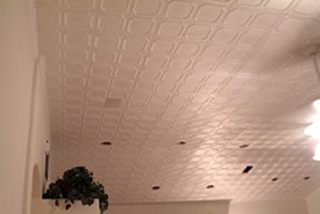 White Styrofoam Ceiling Tile Alfa Package of 8 Tiles – Other Sellers Call This Bostonian and R01
