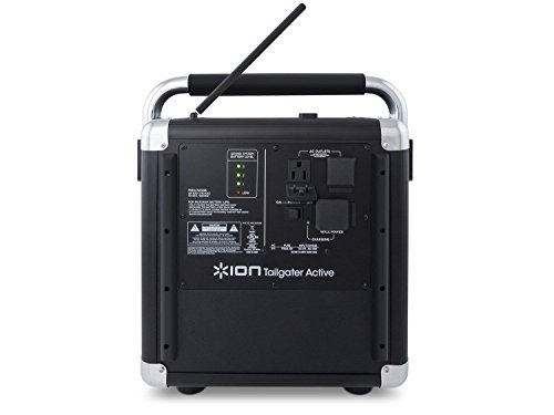 Ion Audio Tailgater Active (iPA30ABK) | Portable Heavy-Du...