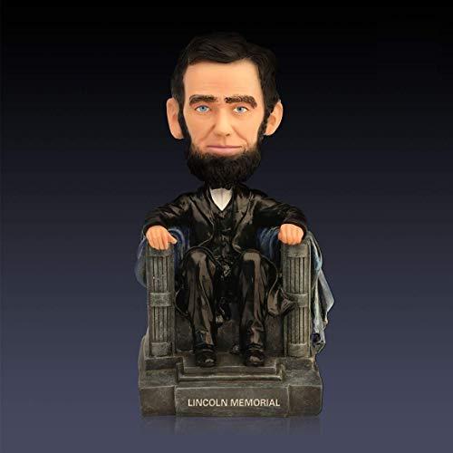 ZXT-parts Abraham Lincoln Washington DC Memorial Statue Figurine Celebrity Series President 5.18 Inch Resin