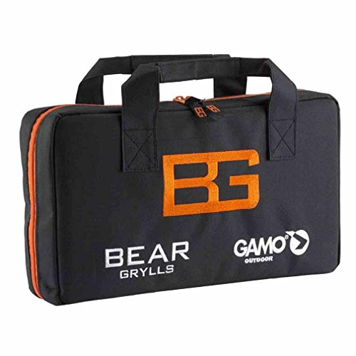 Gamo Outdoor Bear Grylls Tasche für Karabiner, Mann Schwarz