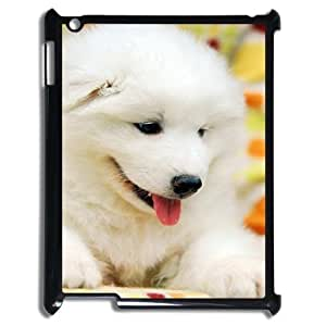 wugdiy Customized Cell Phone Case Cover for iPad2,3,4 with DIY Design Cute puppy
