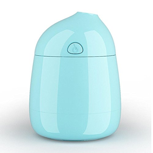 Sunbona Air Aroma Essential Oil diffuser, Mini Portable USB Humidifier Ultrasonic Aromatherapy Oil diffuser For Office,Home Living Room (Blue)