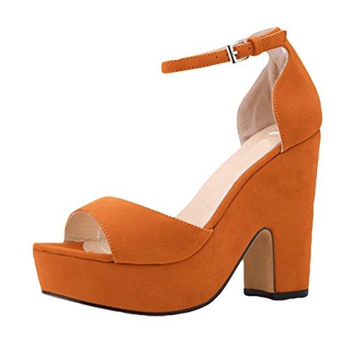 Zapatos Bombas de Cuna as Decoradas de de de de de las Cu oras WanYang las Mujer Tac Se Sandalias los fq1wvv