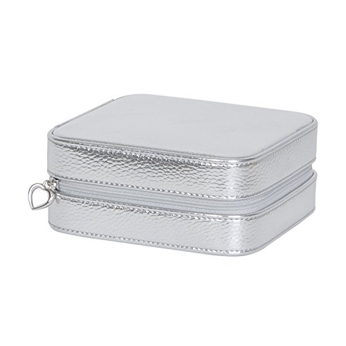 Mele & Co. Luna Travel Jewelry Box (Silver) by Mele & Co. (Image #2)