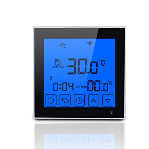 DishyKooker WiFi Large Touch Screen Display Thermostat Programmable Remote Temperature Controller by DishyKooker (Image #6)