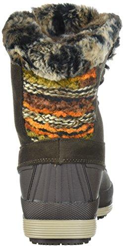 Frauen Runder Brown Wetter Tall Zeh Lumi Stiefel Propét Kaltes Leder tqw1Rx