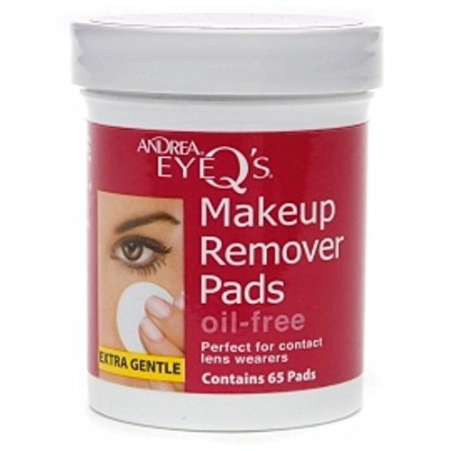 Oil Free Eye Makeup Remover Pads Andrea - 6