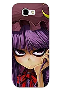 Ideal Crazinesswith Case Cover For Galaxy Note 2(patchouli Knowledge Touhou Project), Protective Stylish Case