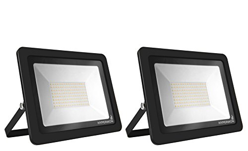 Hyperikon LED Flood Light 200W (1000 Watt Eq.) 180° Rotatable Bracket, 5000k,16000 Lm, Super Bright Outdoor LED Floodlight, Weatherproof IP65, Suitable for Dry and Damp Locations, 110V, 2-Pack by Hyperikon (Image #9)