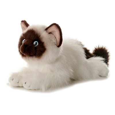 "Aurora - Flopsie - 12"" Bella (Birman Cat): Toys & Games"