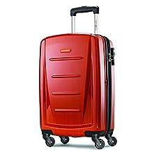 Samsonite Winfield 2 Fashion 20-Inch Spinner Suitcase, Orange, One Size
