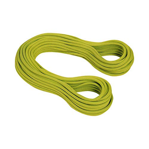 (Mammut 9.5 Infinity Dry Climbing Rope - Pappel Limegreen 70m (Closeout) )