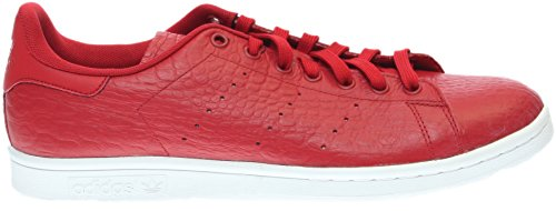Rouge Red adultes Originals XL Reptile unisexe pour Smith Stan basses Baskets Adidas UwZq1R