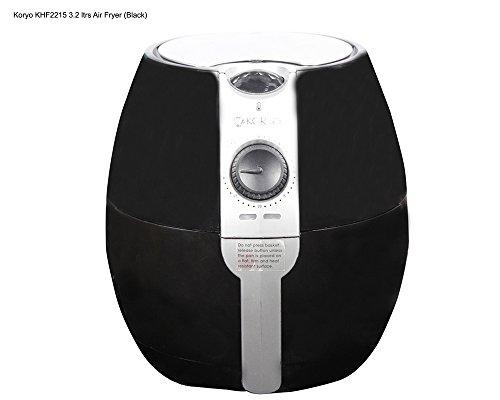 Koryo KHF2215 3.2-Litre Healthy Fryer (Black)