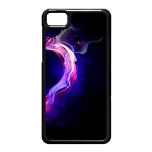 Black Berry Z10 Case,Fire Heart High Definition Wonderful Design Cover With Hign Quality Hard Plastic Protection Case