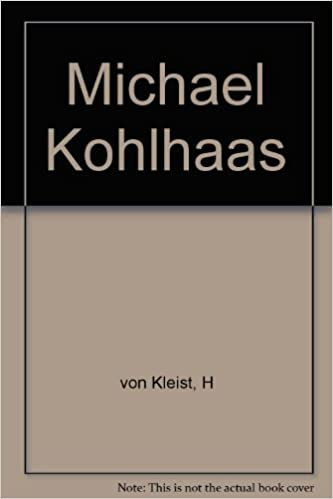 Elektroniske bøger download Michael Kohlhaas B002663SK0 PDF