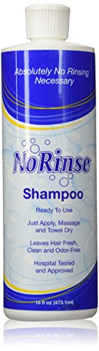 No Rinse Shampoo - 16 oz -3 Pack