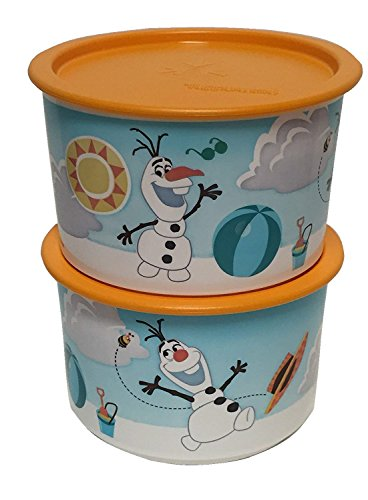 Tupperware Olaf's In Summer Stacking Canisters