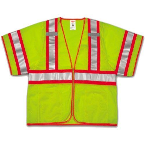 Tingley Rubber V70332 Class 3 Mesh Safety Vest, Large/X-