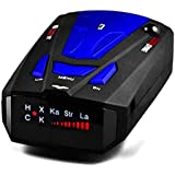 Lazaga Radar Detector,Radar Detector with Voice Alert and Car Speed Alarm System with 360