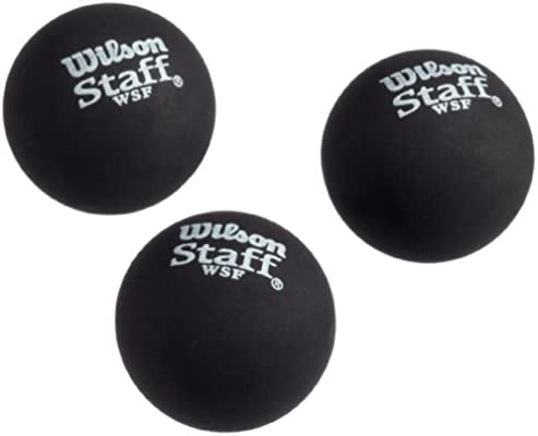 Wilson Ball Squash - Pelota de Squash, Color Amarillo: Amazon.es ...