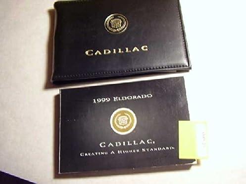 amazon com 1999 cadillac eldorado owners manual cadillac books rh amazon com 2002 Cadillac Eldorado 2007 Cadillac Eldorado