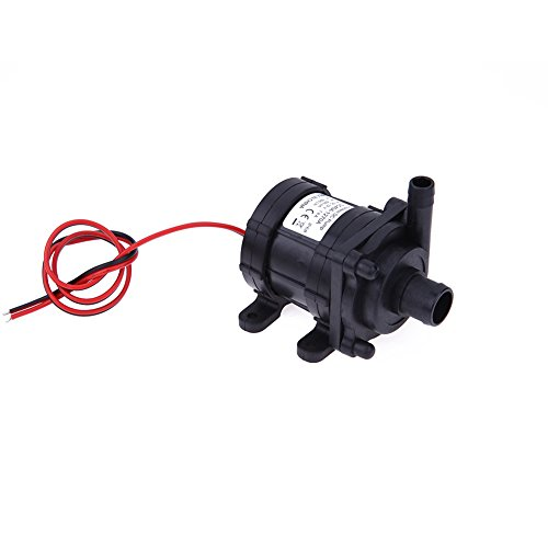 WinnerEco DC12V 6m 500L/H Ultra Quiet Brushless Motor Submersible Pool Water Pump by WinnerEco