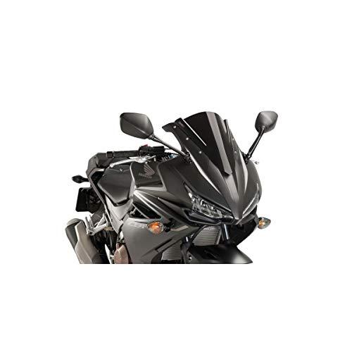 - 16-18 HONDA CBR500R: Puig Racing Windscreen (3mm) (Black)
