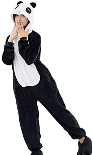 [Sleepsuit Costume Cosplay Kigurumi Onesie Pajamas Romper Playsuit Lounge Wear Panda S] (Panda Costume For Sale)