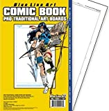 Pro Traditional Comic Book Art Boards