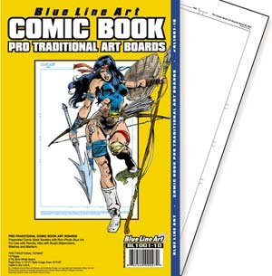 Pro Traditional Comic Book Art Boards ()