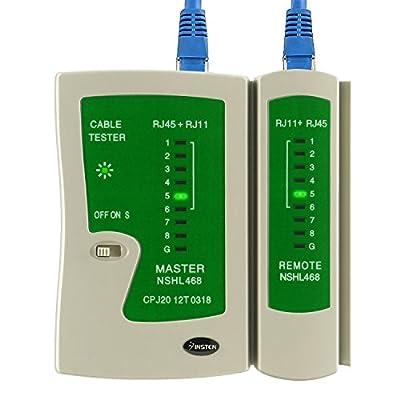 Insten Cable Tester for RJ45 / RJ11