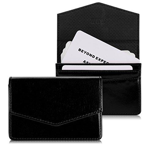 Leather Pocket Business Card Holder - 7