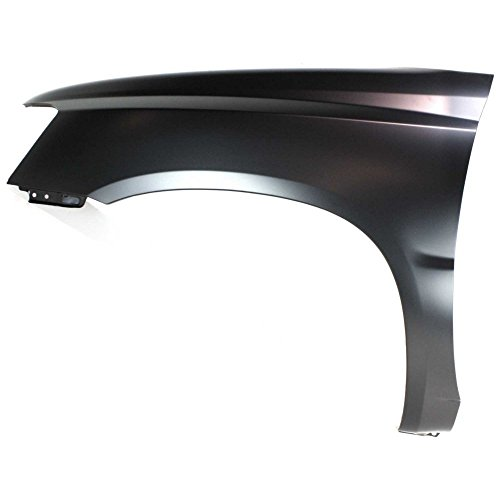 (Fender Front Driver Left LH Side Steel Primered Without holes for turn signal light and antenna)
