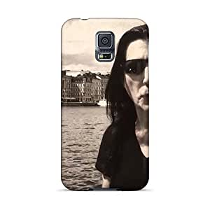 Durable Hard Cell-phone Cases For Samsung Galaxy S5 (rIO18591qKvK) Allow Personal Design High-definition Manowar Band Series