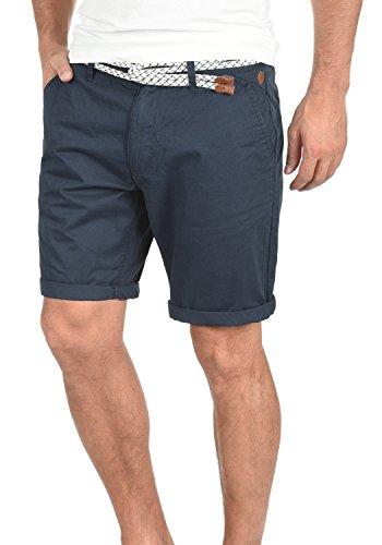 BLEND Ragna - Chino Pantalon corto para hombre India Ink (70151)