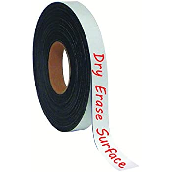 Amazon.com : MasterVision Tape Roll Magnetic Dry Erase, 1