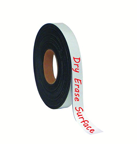 MasterVision Tape Roll Magnetic Dry Erase, 1