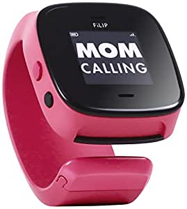FiLIP 2 Smart Locator with Voice for Kids, Watermelon Red (AT&T)