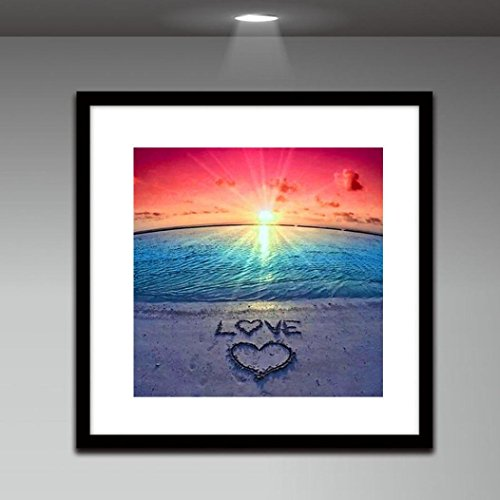 DIY 5D Full Drill Heart Diamond Painting,Jchen(TM) Home Decor Craft 5D DIY Diamond Painting Kit Pasted DIY Diamond Painting Cross Stitch by Jchen Diamond Painting (Image #3)