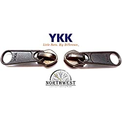 YKK #10 CN Zipper Slider. These sliders are made for YKK CN Coil. CN Coil is a continuous extruded coil of zipper. (Sold separately) (Black Qty 2)