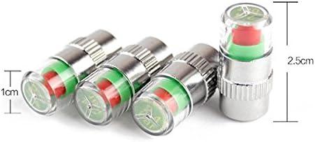WINOMO Monitor Indicatore di pressione pneumatici di auto sensore Tappi per valvole di pneumatici per auto 4/pezzi