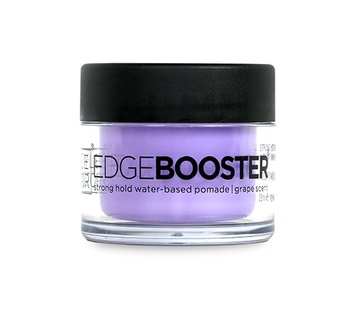 Style Factor Mini Edge Booster Strong Hold Hair Pomade Color Travel 0.85oz (Grape)