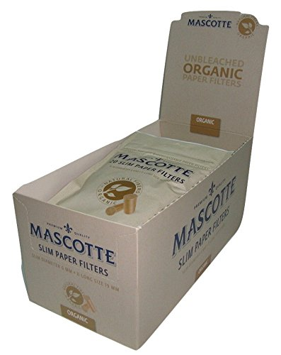10 Bolsas de Filtros Mascotte Organicos . 1200 filtros ...